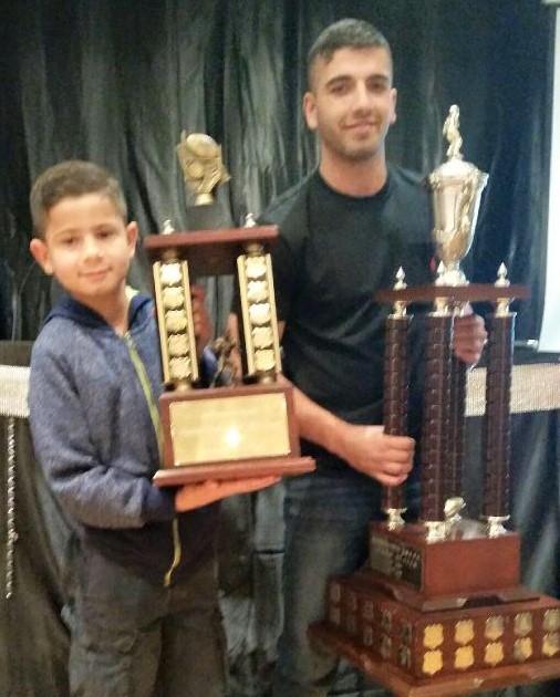 2015 Players of the Year Zayde Sabha (Ray Farah Junior) & Jason Kazzi (Senior)